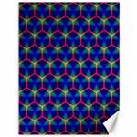 Honeycomb Fractal Art Canvas 36  x 48   48 x36 Canvas - 1