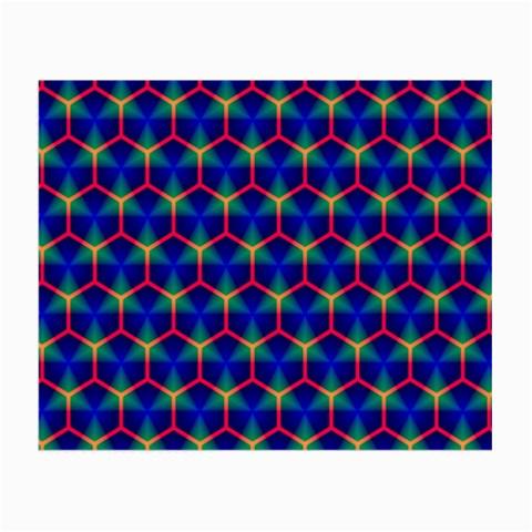 Honeycomb Fractal Art Small Glasses Cloth (2-Side)