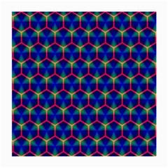 Honeycomb Fractal Art Medium Glasses Cloth