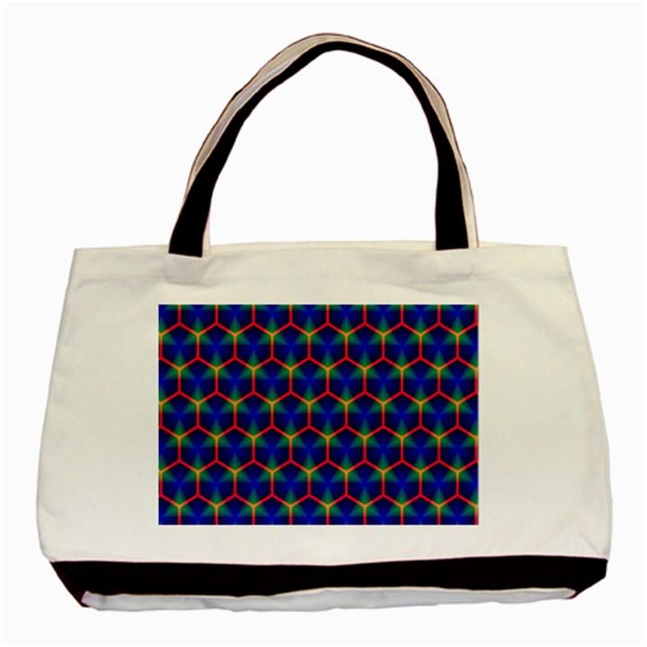 Honeycomb Fractal Art Basic Tote Bag (Two Sides)