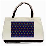 Honeycomb Fractal Art Basic Tote Bag (Two Sides) Back