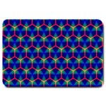 Honeycomb Fractal Art Large Doormat  30 x20 Door Mat - 1