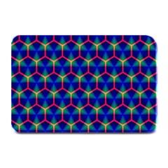 Honeycomb Fractal Art Plate Mats