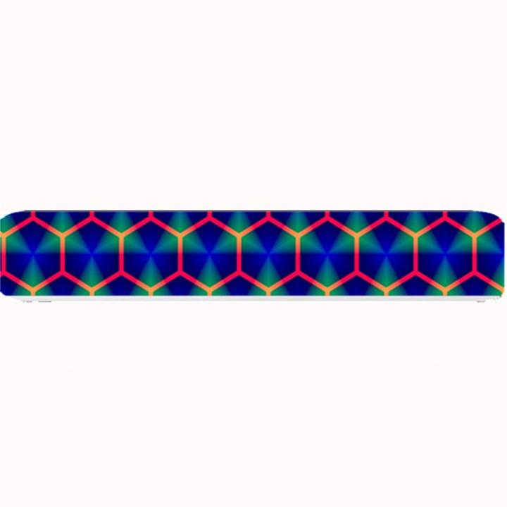Honeycomb Fractal Art Small Bar Mats