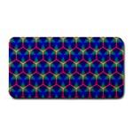 Honeycomb Fractal Art Medium Bar Mats 16 x8.5 Bar Mat - 1