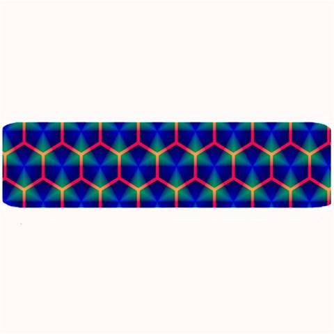 Honeycomb Fractal Art Large Bar Mats