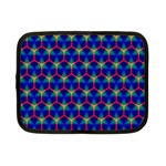Honeycomb Fractal Art Netbook Case (Small)  Front