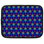 Honeycomb Fractal Art Netbook Case (Large) Front