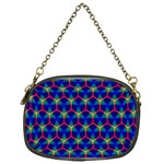 Honeycomb Fractal Art Chain Purses (One Side)  Front