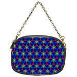 Honeycomb Fractal Art Chain Purses (Two Sides)  Front