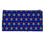 Honeycomb Fractal Art Pencil Cases Back