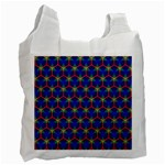 Honeycomb Fractal Art Recycle Bag (One Side) Front