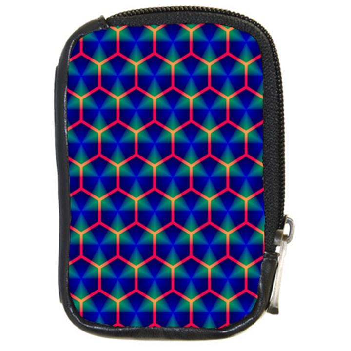 Honeycomb Fractal Art Compact Camera Cases