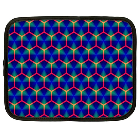 Honeycomb Fractal Art Netbook Case (XXL)