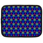Honeycomb Fractal Art Netbook Case (XXL)  Front