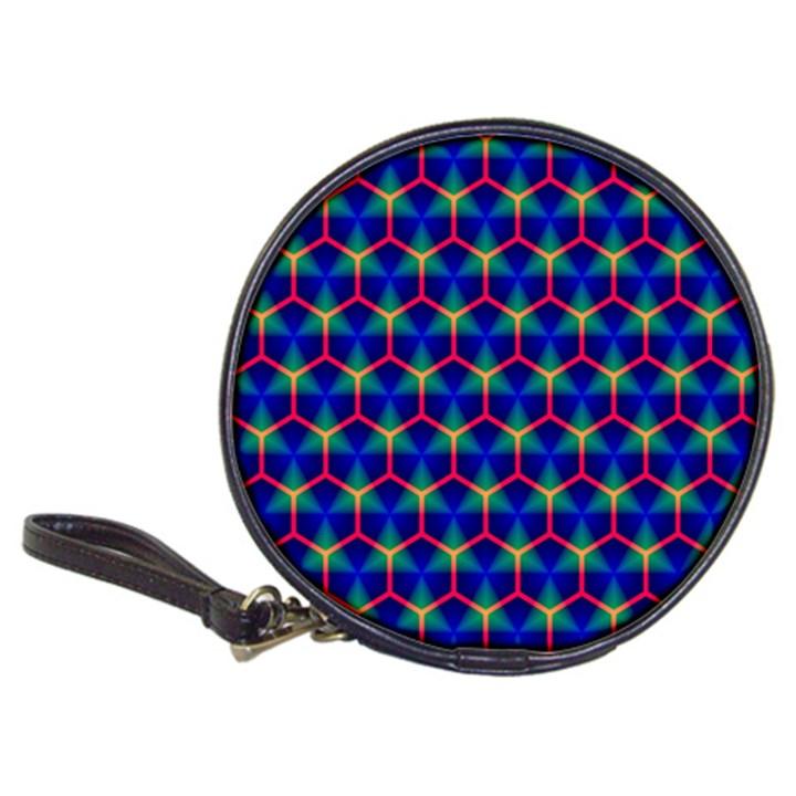 Honeycomb Fractal Art Classic 20-CD Wallets