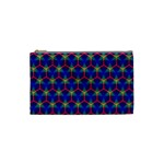 Honeycomb Fractal Art Cosmetic Bag (Small)  Front