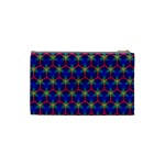 Honeycomb Fractal Art Cosmetic Bag (Small)  Back