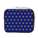 Honeycomb Fractal Art Mini Toiletries Bags Front
