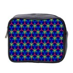Honeycomb Fractal Art Mini Toiletries Bag 2-Side Front