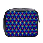 Honeycomb Fractal Art Mini Toiletries Bag 2-Side Back