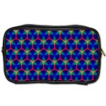 Honeycomb Fractal Art Toiletries Bags 2-Side Front
