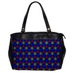 Honeycomb Fractal Art Office Handbags Front