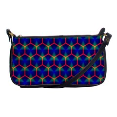 Honeycomb Fractal Art Shoulder Clutch Bags