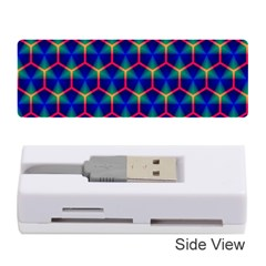 Honeycomb Fractal Art Memory Card Reader (Stick)