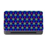 Honeycomb Fractal Art Memory Card Reader with CF Front