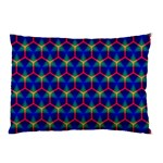 Honeycomb Fractal Art Pillow Case (Two Sides) Front