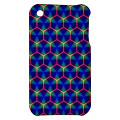 Honeycomb Fractal Art Apple iPhone 3G/3GS Hardshell Case