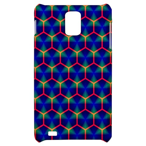 Honeycomb Fractal Art Samsung Infuse 4G Hardshell Case