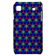 Honeycomb Fractal Art Samsung Galaxy S i9000 Hardshell Case