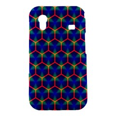 Honeycomb Fractal Art Samsung Galaxy Ace S5830 Hardshell Case