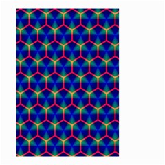 Honeycomb Fractal Art Small Garden Flag (Two Sides)