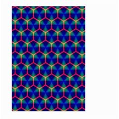 Honeycomb Fractal Art Large Garden Flag (Two Sides)