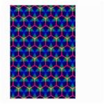 Honeycomb Fractal Art Large Garden Flag (Two Sides) Back