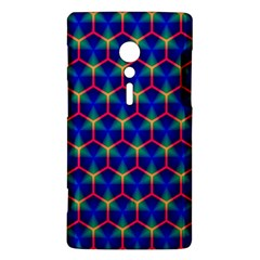 Honeycomb Fractal Art Sony Xperia ion