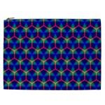 Honeycomb Fractal Art Cosmetic Bag (XXL)  Front