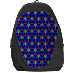 Honeycomb Fractal Art Backpack Bag