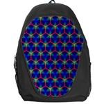 Honeycomb Fractal Art Backpack Bag Front