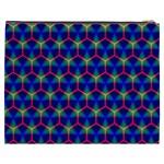 Honeycomb Fractal Art Cosmetic Bag (XXXL)  Back