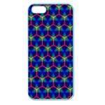 Honeycomb Fractal Art Apple Seamless iPhone 5 Case (Color) Front