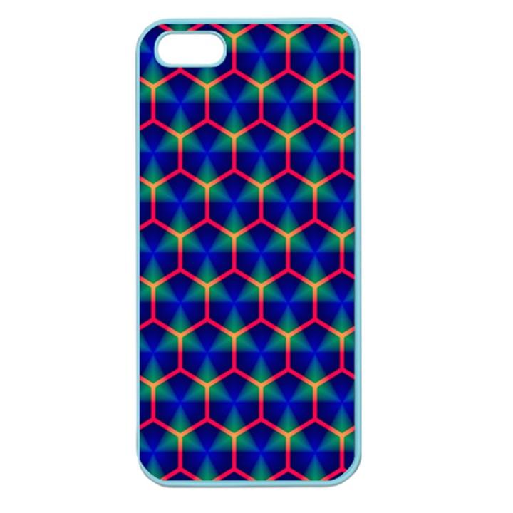 Honeycomb Fractal Art Apple Seamless iPhone 5 Case (Color)