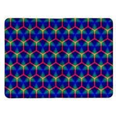 Honeycomb Fractal Art Kindle Fire (1st Gen) Flip Case