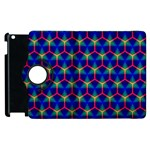 Honeycomb Fractal Art Apple iPad 2 Flip 360 Case Front