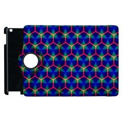 Honeycomb Fractal Art Apple iPad 3/4 Flip 360 Case