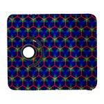 Honeycomb Fractal Art Samsung Galaxy S  III Flip 360 Case Front