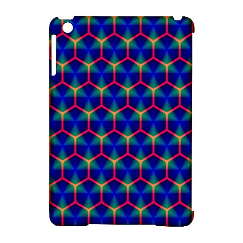 Honeycomb Fractal Art Apple iPad Mini Hardshell Case (Compatible with Smart Cover)